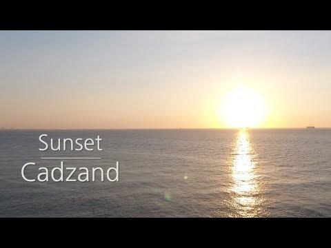 Cadzand, Cadzand-bad Sunset, drone