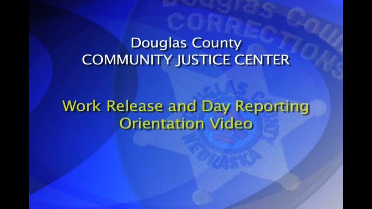 Work Release Program - Douglas County Corrections
