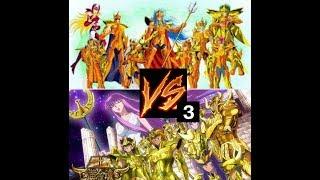 Saint Seiya alma de soldado. La guerra santa. poseidon VS Athena. Capitulo 3
