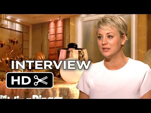 The Wedding Ringer Interview - Kaley Cuoco-Sweeting (2015) - Kevin Hart, Josh Gad Movie HD