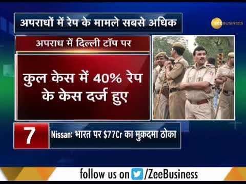 NCRB Data: Delhi ranks top on highest number of crimes