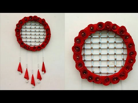 Diy paper craft ideas |  paper wall decoration idea | wall hanging ideas | paper flower