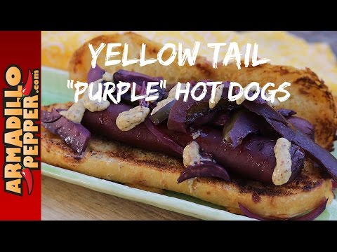 Smoked Yellow Tail Hot Dogs in the Masterbuilt Smoker - YouTube