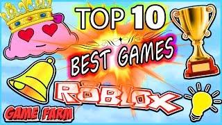 TOP 10 BESTE ROBLOX GAMES 2019 !!