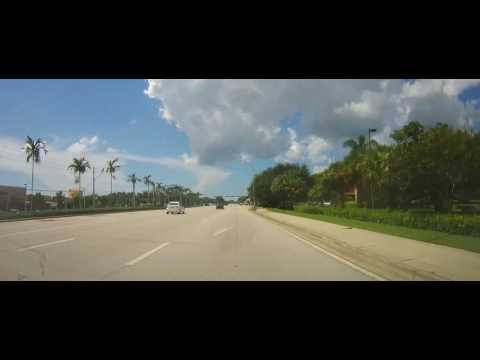 Driving around Bonita Springs and North Naples, Florida
