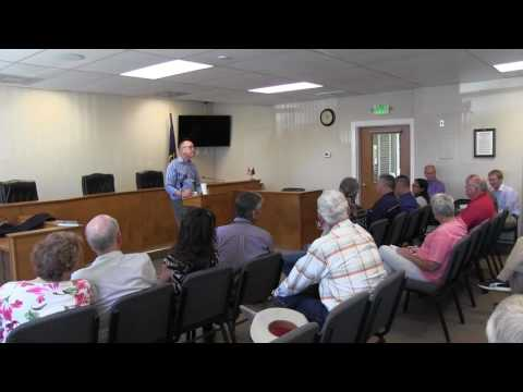 Walden Town Hall meeting 7-29-2016