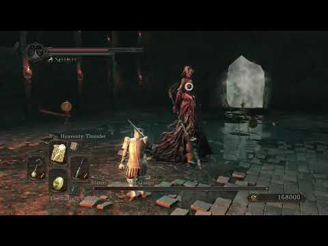 Dark Souls 2 - Elana, the Squalid Queen, Company of Champions, NG+, Miracles Only