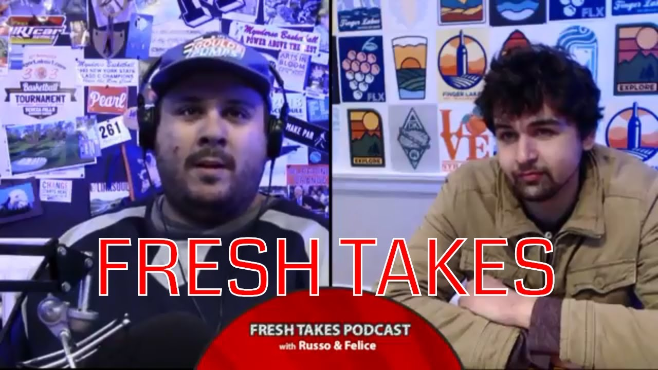 FRESH TAKES LIVE NOW: Impractical Jokers hit Rochester & Rick Grimes is no more (podcast)