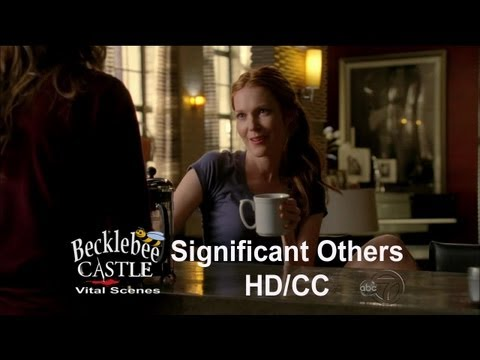 "Castle 5x10  ""Significant Others"" Beckett, Castle, Meredith & Coffee (HD/CC)"