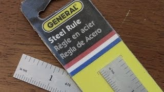 """GENERAL 6 Inch Stainless Steel Ruler: Great EDC Tool""by TheGearTester"