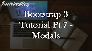 Bootstrap 3 Tutorial Pt.7 - Modals (Dialog Prompt)