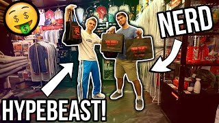 Turning a School Nerd into a Hypebeast! (Insane Challenge)