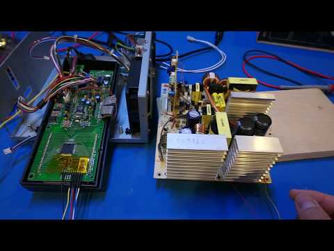 BK Precision 1696 Repair Attempt and Display Protocol Reverse Engineering
