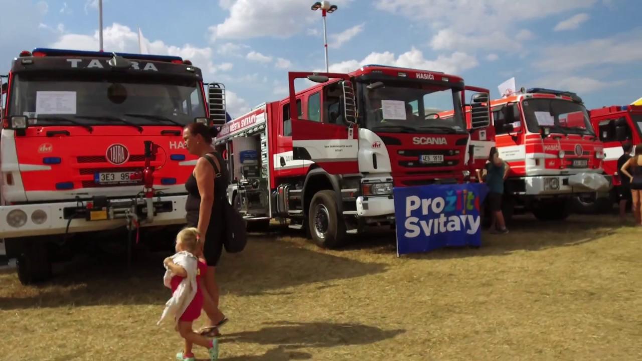 Video Největší setkání požárních automobilů v ČR
