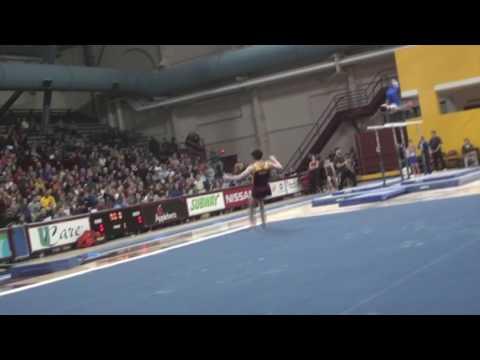 Gopher Men's Gymnastics: Nebraska Highlights