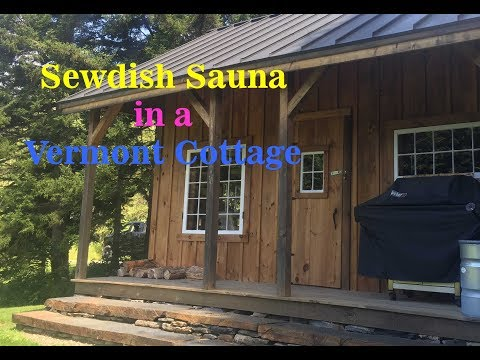 DIY - Virtual Tour of Swedish Sauna & Cottage