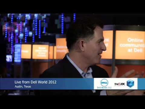 Michael Dell - DellWorld 2012 - theCUBE