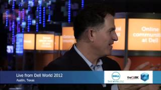 Michael Dell - DellWorld 2012 - theCUBE