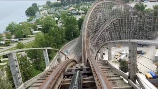 Mean Streak Front Seat POV 2014 FULL HD Cedar Point