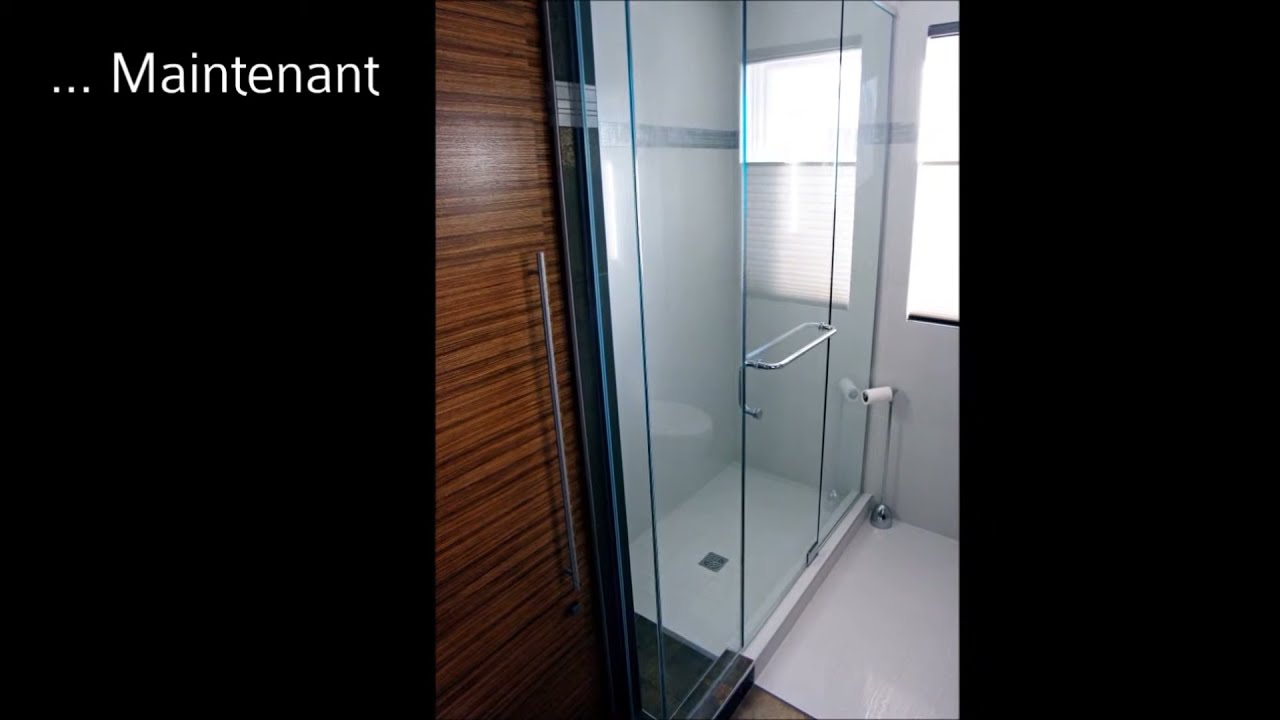 Salle d\'eau contemporaine - YouTube