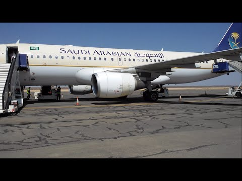 Saudi Arabian Airlines Domestic ✈ Flight Review: A320 Al Baha to Jeddah SV1701 Economy class