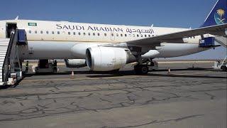 Saudi Arabian Airlines Domestic ✈ Flight Review: A320 Al Baha to Jeddah SV1701 Economy class