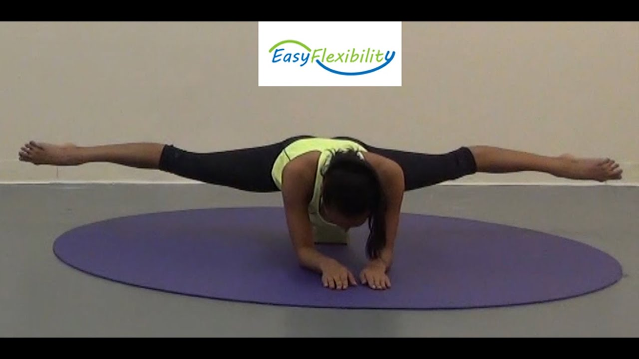 Side Split Cold Without Warm Up How To Do The Side Split