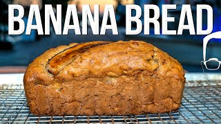 THE BEST BANANA BREAD RECIPE (WITH A SPECIAL FINISHING TOUCH!)   SAM THE COOKING GUY 4K