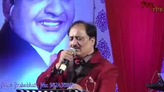 Ye mehlo ye takhto sung by  Nilesh Brahmbhatt mo 9824301160