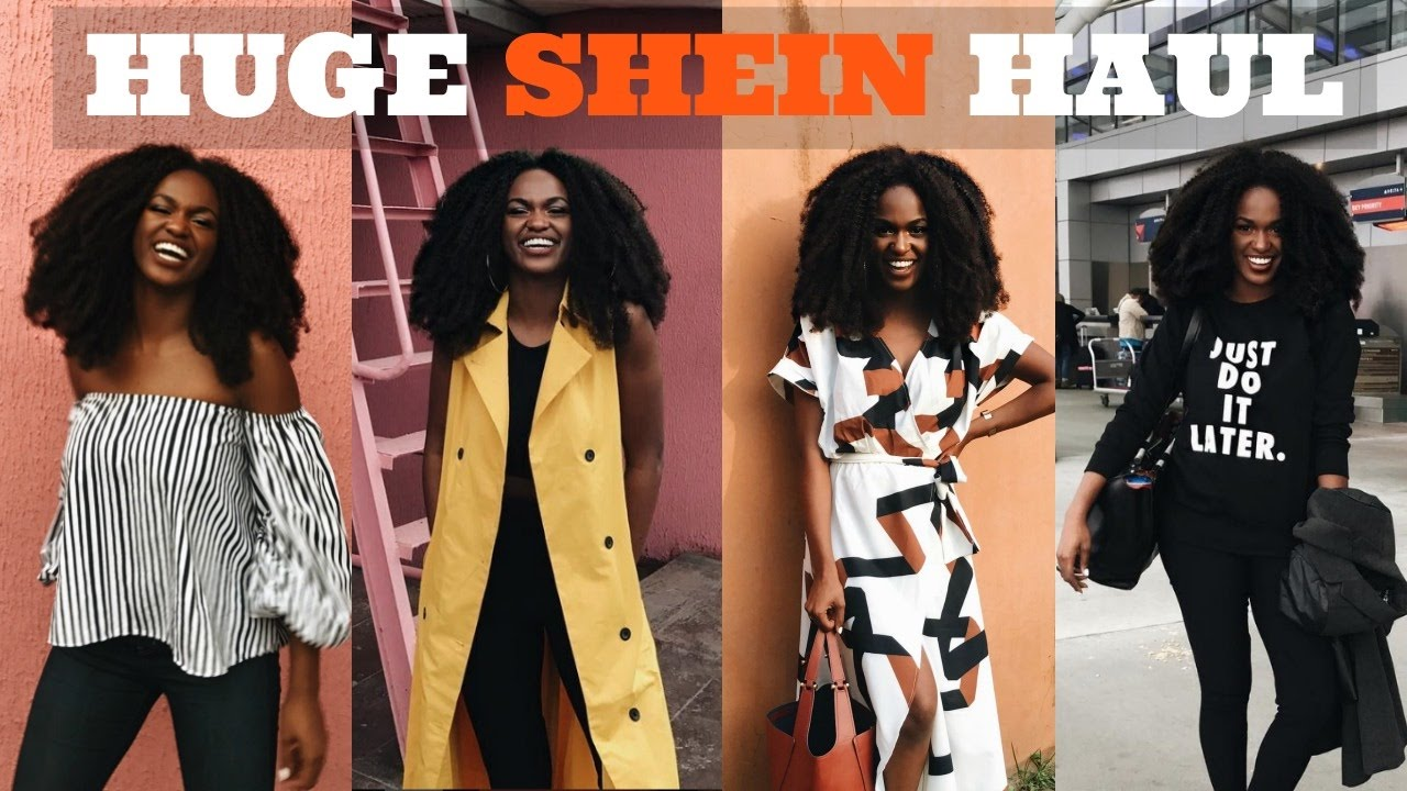 9af8de77f240 HUGE FALL TRY-ON HAUL | SHEIN - YouTube