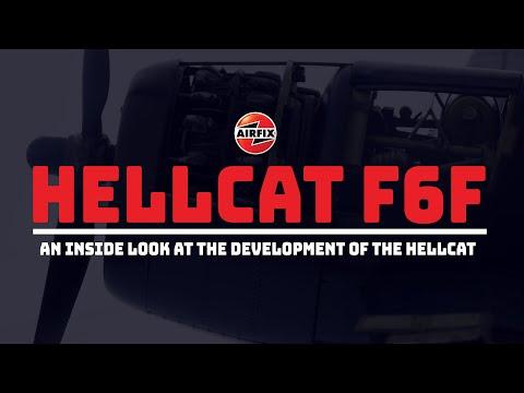 Airfix Presents the Grumman F6F-5 Hellcat (A19004)