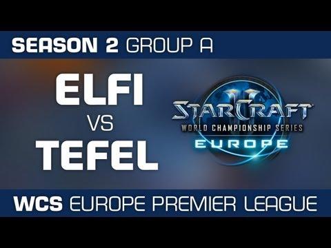 Elfi vs. Tefel - Group A Ro32 - WCS European Premier League - StarCraft 2
