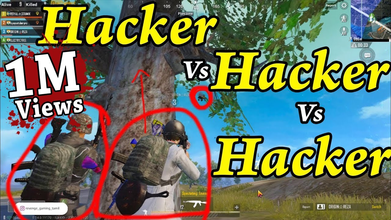 Hacker vs Hacker vs Hacker | Most Skilled Hacker Wins | PUBG Mobile