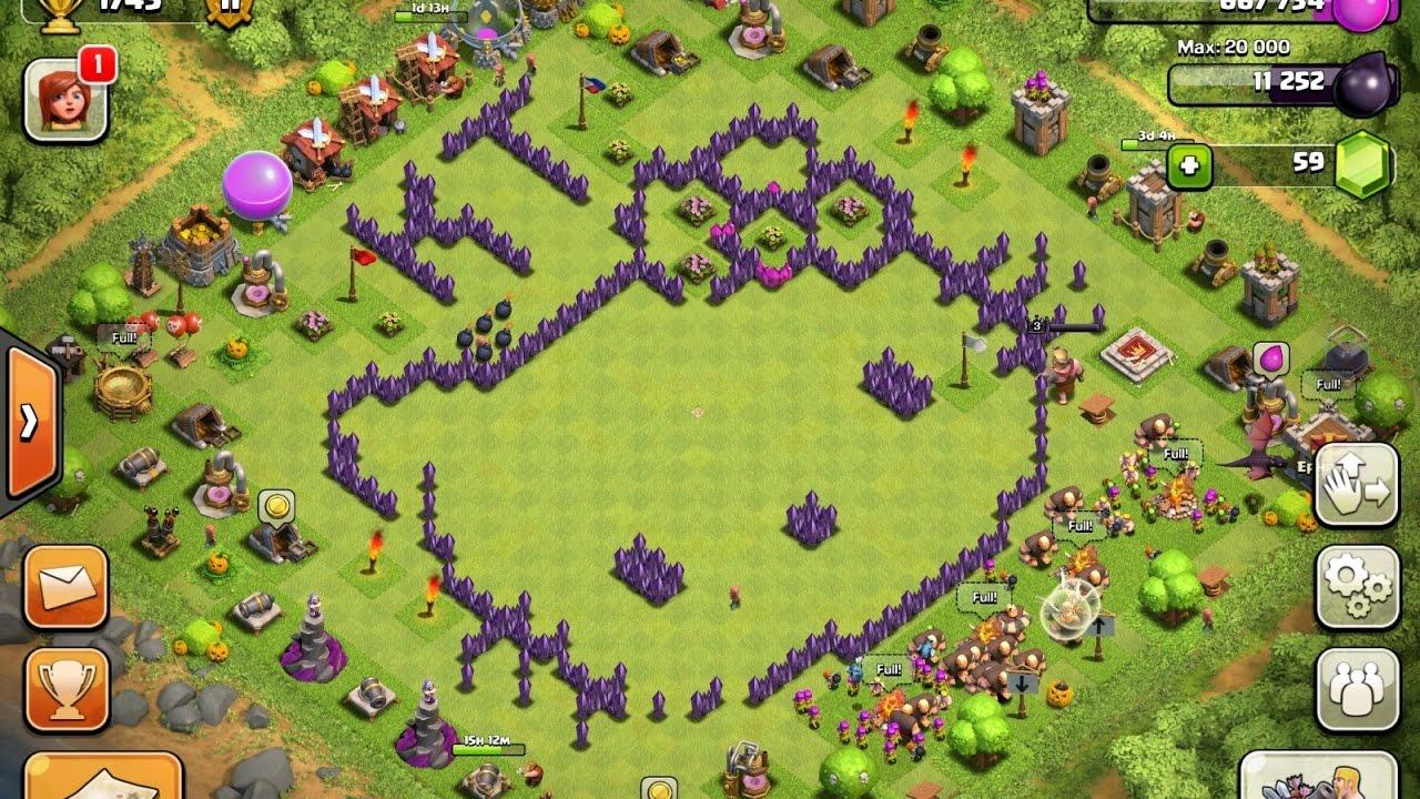 11 Base Clash Of Clans Paling Kreatif Dan Kocak Yang Pasti
