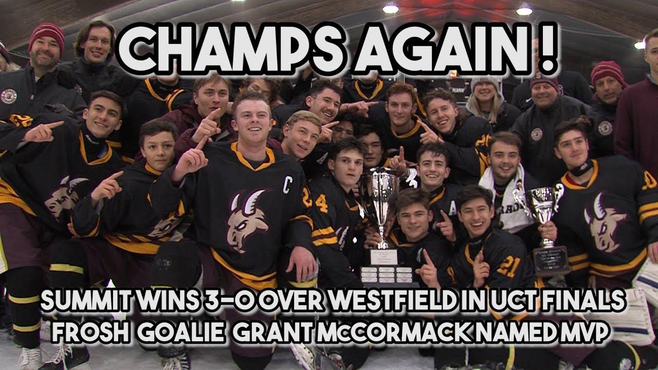 Summit 3 Westfield 0 | Union County Tournament Finals | Shutout for Freshman MVP Grant McCormack