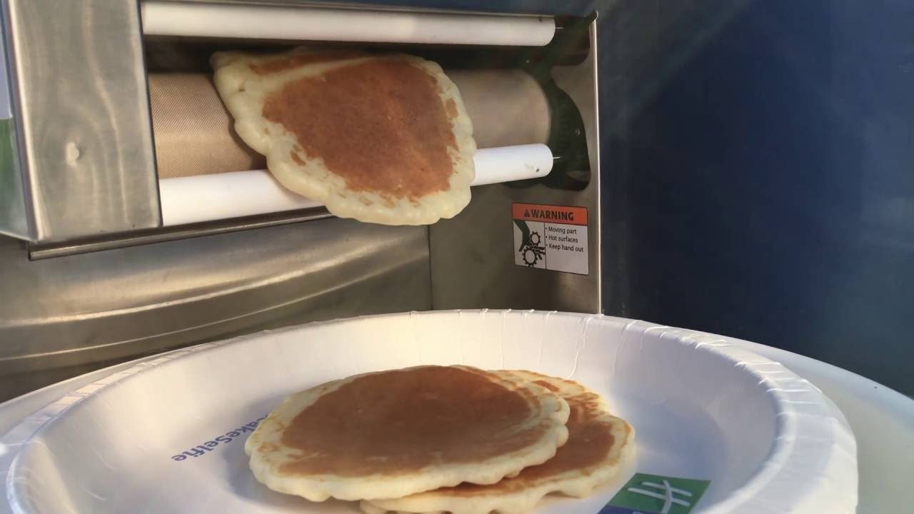 49779411302 Holiday Inn Express  Pancake Machine - YouTube