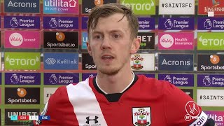"""Every few days is an opportunity to put things right."" Ward-Prowse on positive step for Southampton"