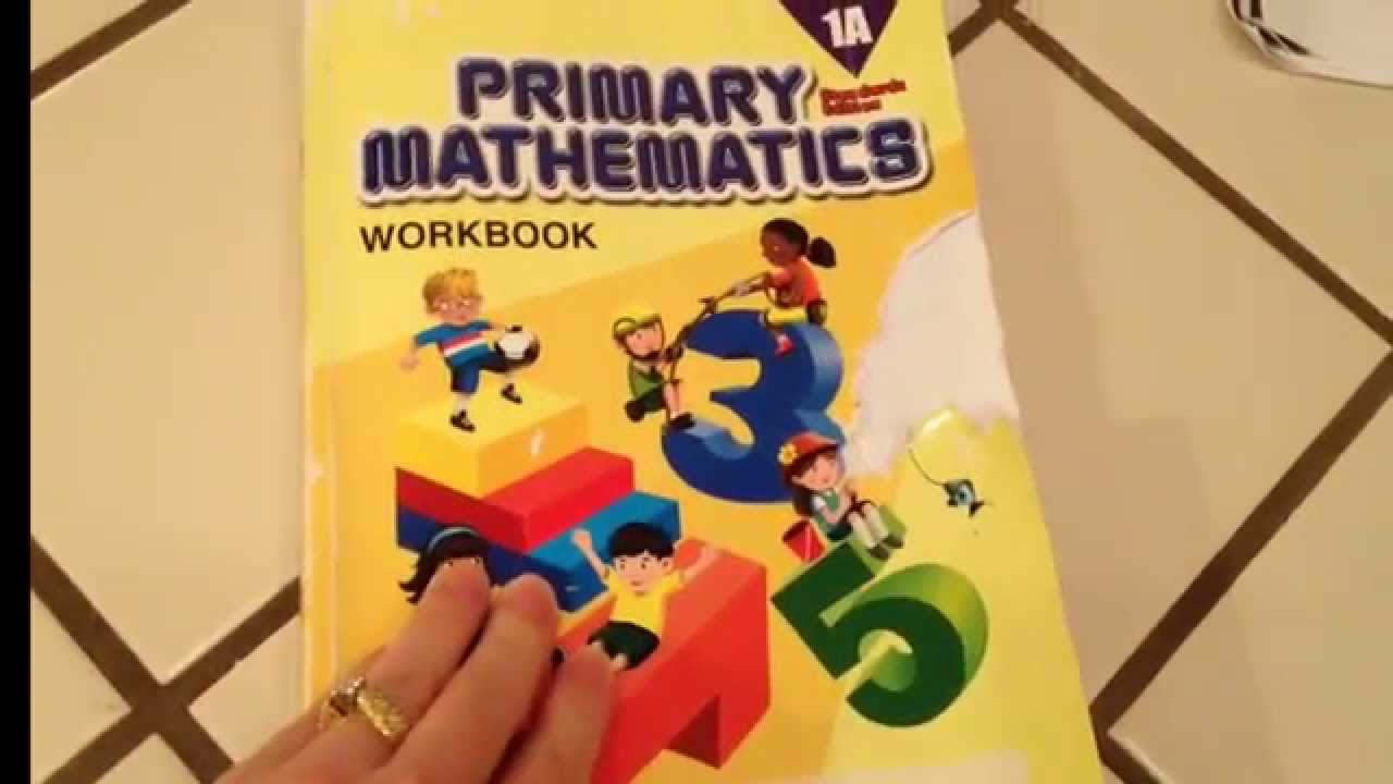 Workbooks 1st grade math workbooks : Singapore math review workbook 1A Standards Edition table of ...