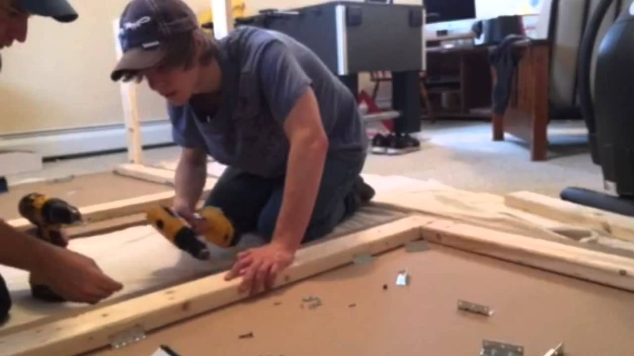 Incroyable How To Build A Ping Pong Table, SIPS   YouTube