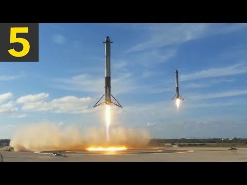 Top 5 Amazing SpaceX Landings