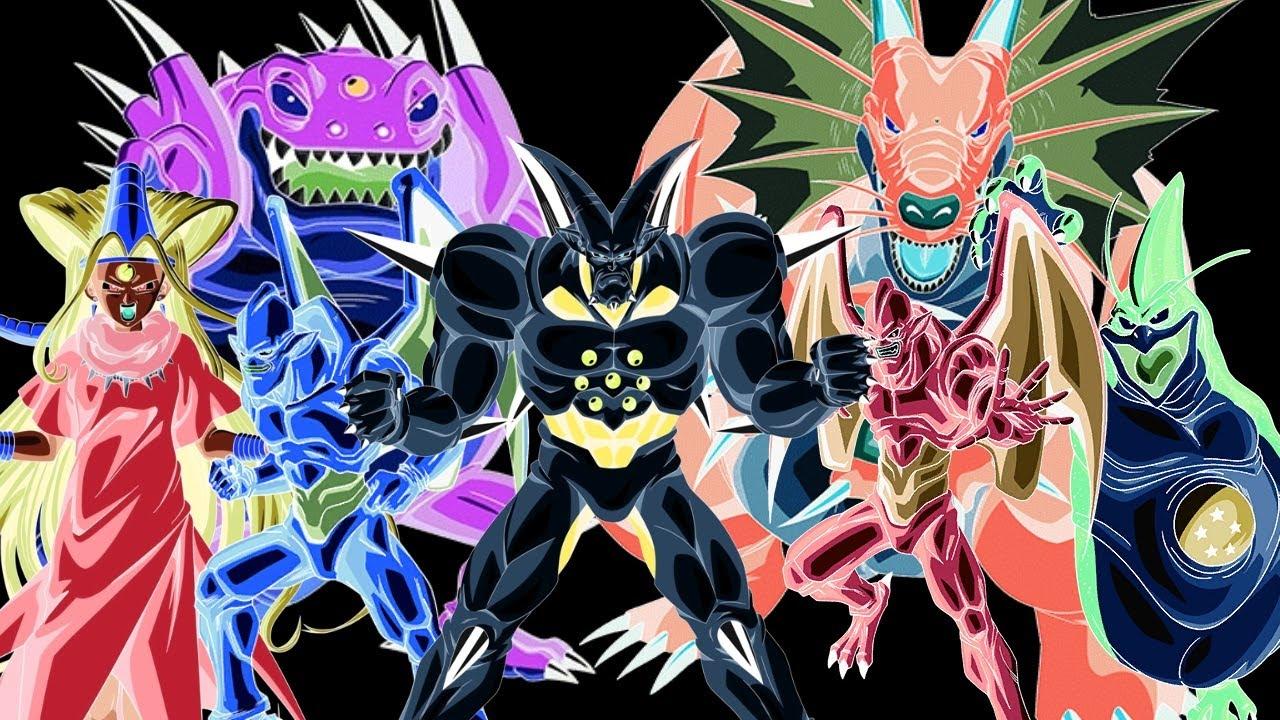 Dragon Ball GT Power Levels - Shadow Dragons Saga