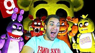 ENCERRADO EN FIVE NIGHTS AT FREDDY'S CON LOS ANIMATRONICOS de FNAF