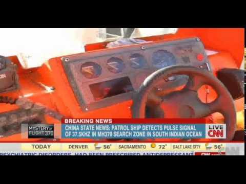 Malaysia missing plane search China ship 'picks up signal'