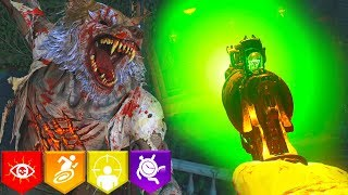 """DEAD OF THE NIGHT"" (DLC1) FULL EASTER EGG HUNT! // BLACK OPS 4 ZOMBIES"