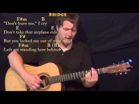 Silver Wings (Merle Haggard) Fingerstyle Guitar Cover Lesson in E with Chords/Lyrics