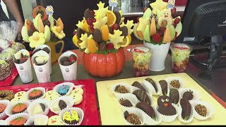 Edible Arrangements Kaneohe creates bouquets that are beautiful and delicious