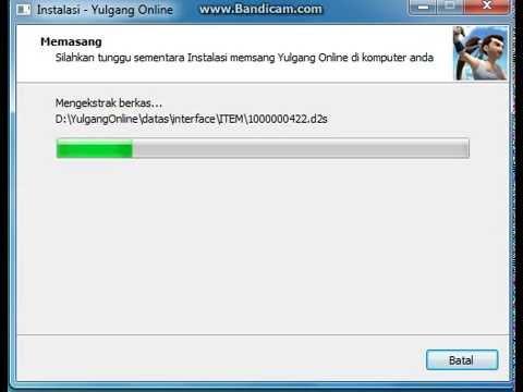 Error Install Yulgang Online Indonesia