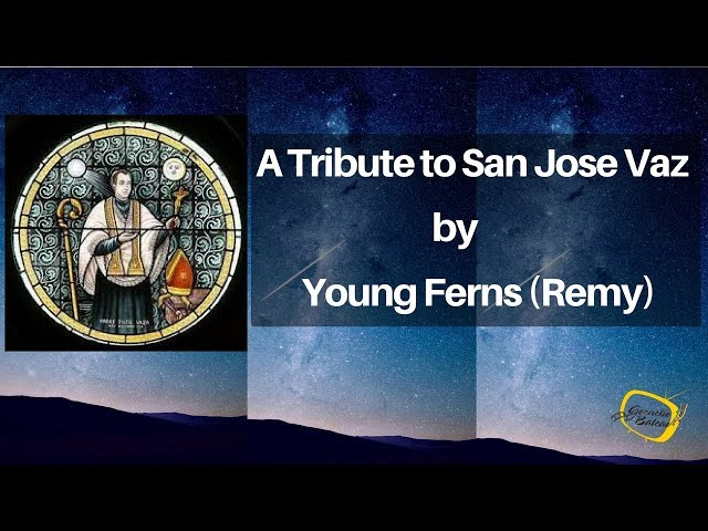 KONKANI SONG - A Tribute to San Juze Vaz by Young Ferns (Remy) , Konkani Song on St.Joseph vaz