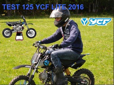 Test 125 Ycf Lite 2016 No Music Youtube