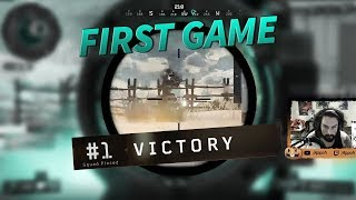 First Blackout Game (Victory) - Black Ops 4